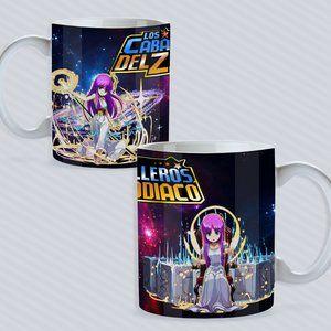 Los Caballeros del Zodiaco ATENA coffee mug
